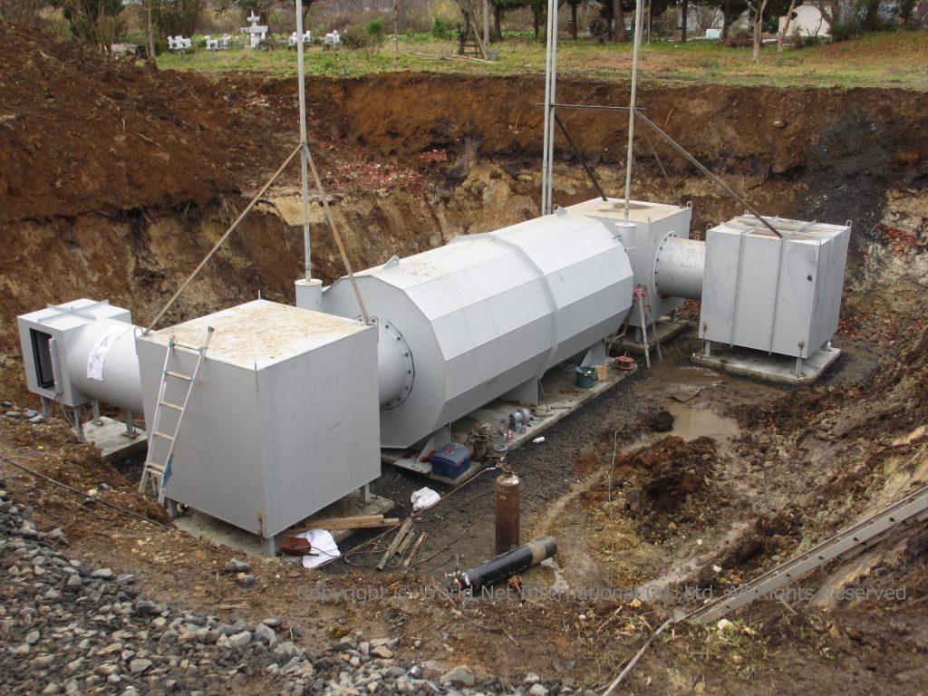 地下埋設型シェルター